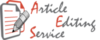 Article Editing Services